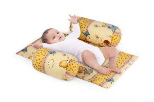 Suport de siguranta cu paturica impermeabila pentru bebelusi model Honey