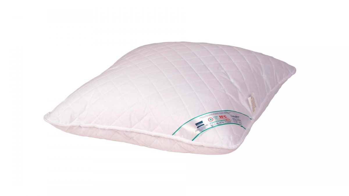 Perna Somnart HypoallergenicMed, lavabila la 95°C – 40 x 40 cm