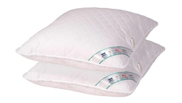 Set 2 perne medicinale hipoalergenice Somnart HypoallergenicMed, lavabile la 95°C – 70×70