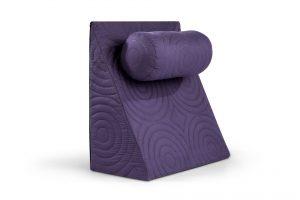 Perna Relax TV 60x68x30cm, ortopedica pentru citit, antireflux, cu husa detasabila, confortabila si rezistenta la spalari multiple la 40 de grade