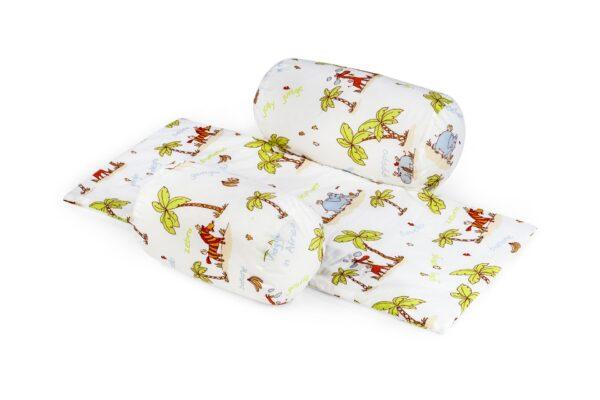 Suport de siguranta cu paturica pentru bebelusi (model Jungle)