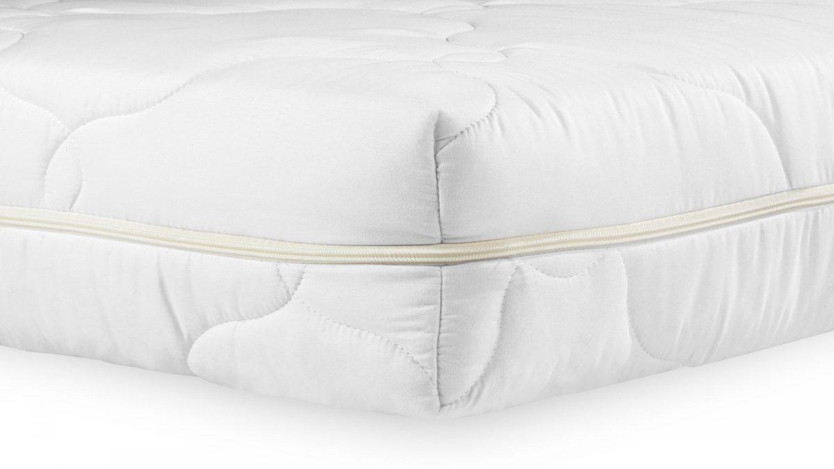 Saltea Medicinala 180×200 Hipoalergenica Somnart, HypoallergenicMed Bumbac, cu spuma poliuretanica, husa lavabila si detasabila cu fermoar, rulata, fermitate medie