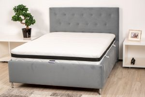 Saltea Multistraturi 90×200 Multilayer Supreme Confort Somnart, memorie SmartFoam + AirFoam, grosime 22cm, husa 3D, manere, fermitate medie