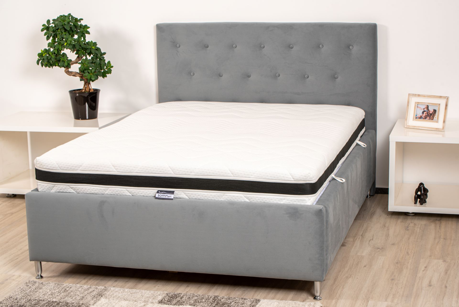 Saltea Somnart Multilayer Supreme Confort - 90x200 cm