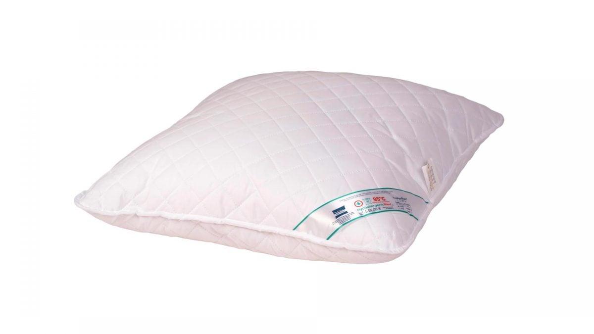 Perna Somnart HypoallergenicMed, lavabila la 95°C – 60 x 60 cm