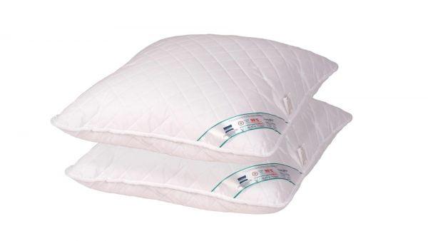 Set 2 perne hipoalergenice Somnart HypoallergenicMed, lavabile la 95°C – 60×60