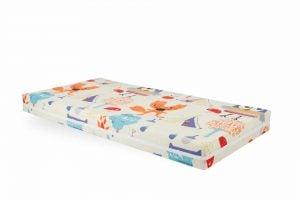 Saltea Pat 70×140 Somnart Memory cu husa protectie impermeabila pentru bebelusi si copii, Bufnita