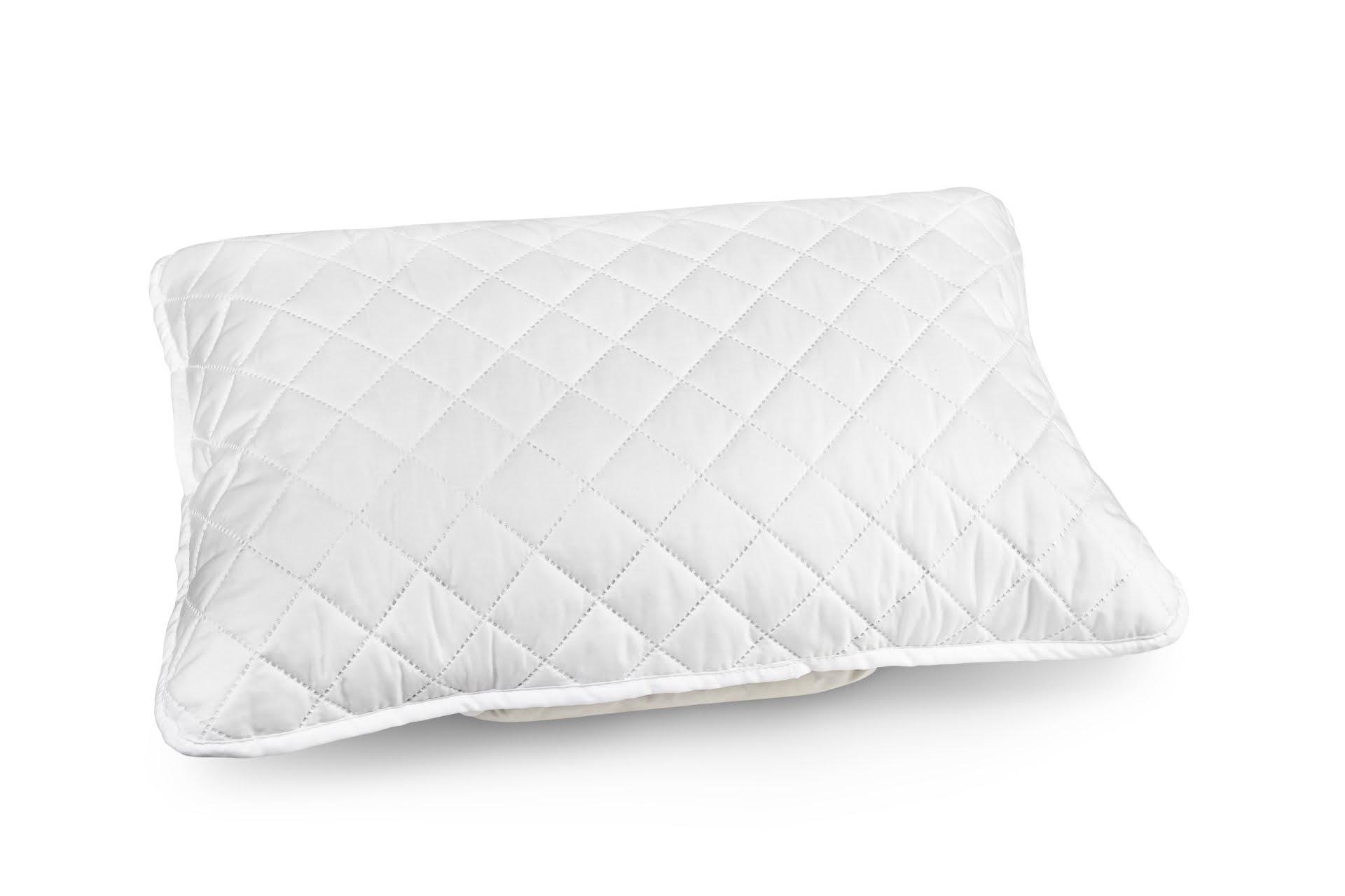 Protectie (fata de perna) matlasata HypoallergenicMed pentru perna 50x70 cm poza somnart.ro