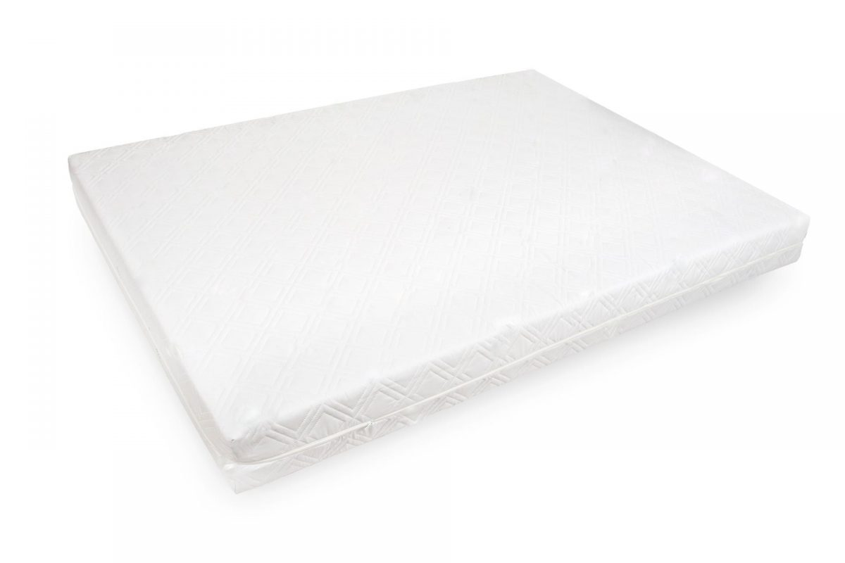 Saltea hipoalergica Somnart 160x200x17 cm, spuma poliuretanica, husa detasabila cu fermoar, fermitate medie