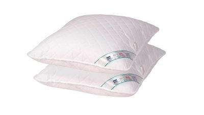 Set 2 perne medicinale hipoalergenice Somnart HypoallergenicMed, lavabile la 95°C – 40×40