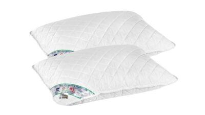Set 2 perne medicinale hipoalergenice Somnart HypoallergenicMed, lavabile la 95°C – 50×70
