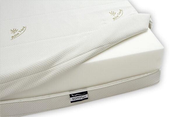 Saltea Somnart XXL Memory Plus (inaltime 25cm) pentru persoane cu greutate – 160×200 cm