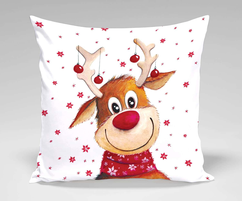 Perna decor Craciun Rudolf imagine 2021 somnart.ro