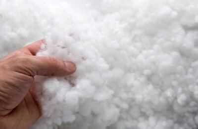Umplutura siliconizată hipoalergenică tip biluțe marca SuperBall – greutate 15 kg/sac