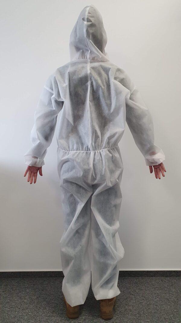 Combinezon alb, material polipropilenă, mărime L