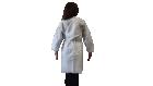 Halat alb, material polipropilena Geosin, refolosibil, autoclavabil – L