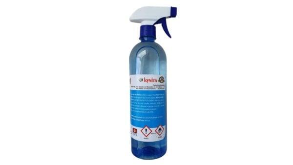 Dezinfectant virucid de maini 750 ml, 75% alcool, cu pompita spray, avizat virucid, bactericid si fungicid