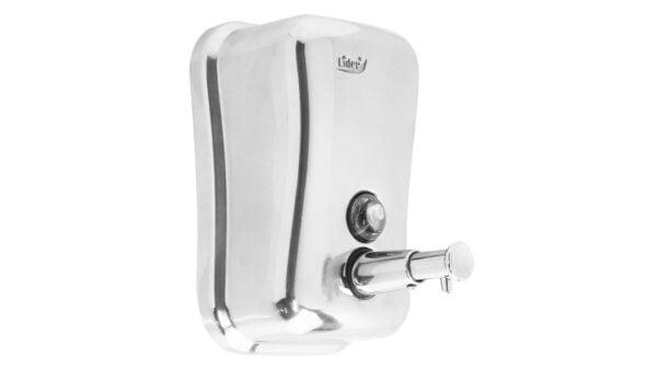 Dozator pentru dezinfectant de maini, inox, 800 ml