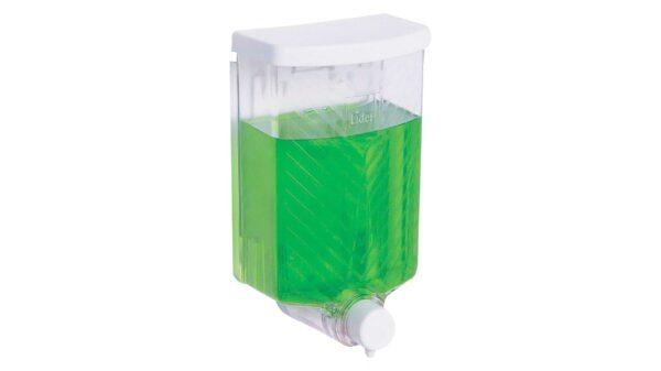 Dozator pentru dezinfectant de mâini, transparent, 650 ml