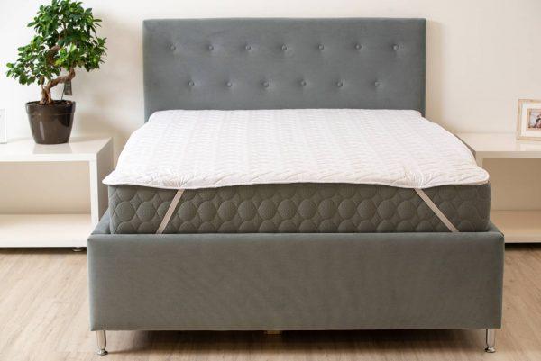 Protectie matlasata pentru saltea Somnart HypoallergenicMed microfibra lavabila la 95°C 120×200 cm