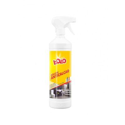 Solutie anticalcar marca Bozo, 1 kg, cu pulverizator smart