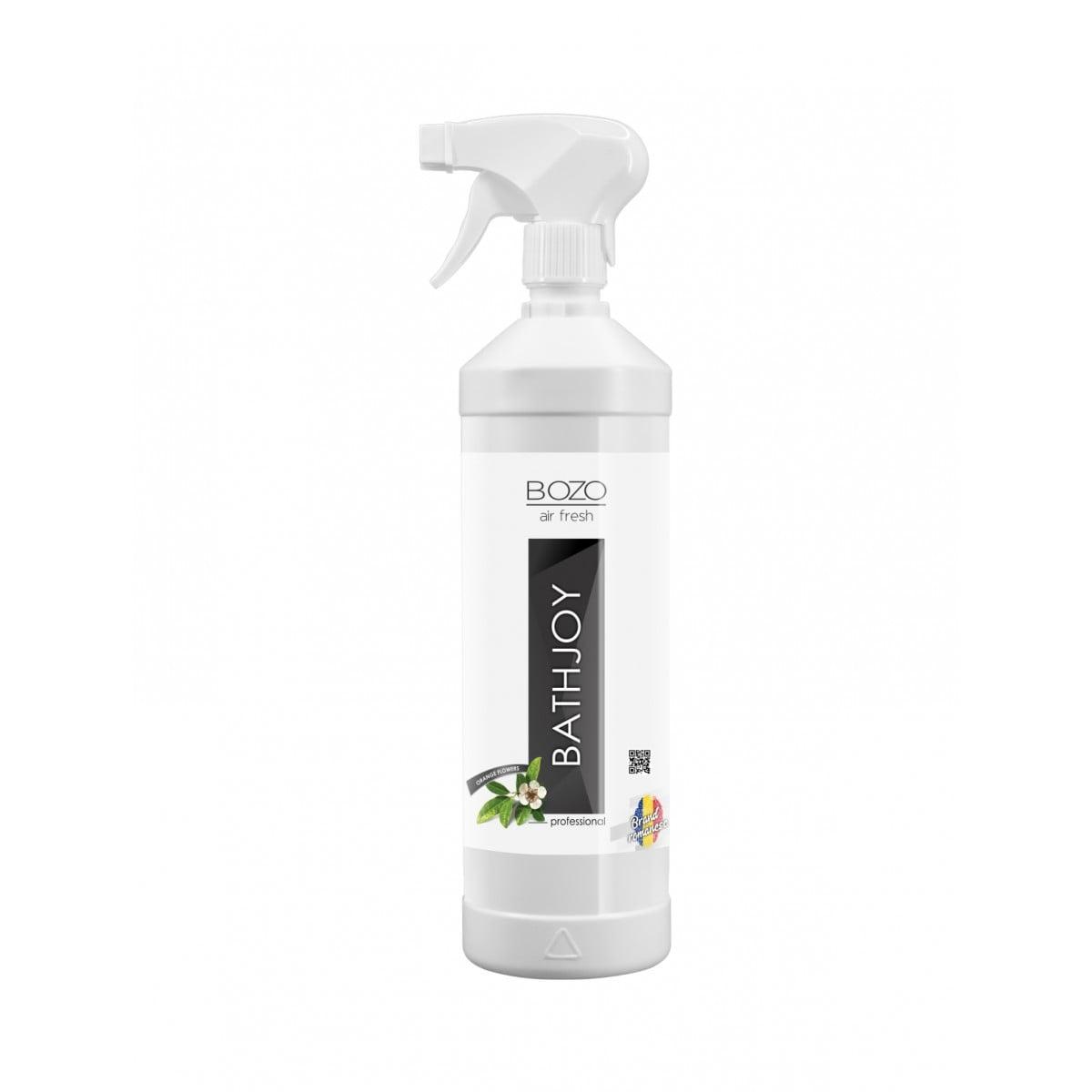 Odorizant ambiental concentrat cu aroma flori de portocal, Bozo Air Fresh - BATHJOY - 500ml imagine 2021 somnart.ro