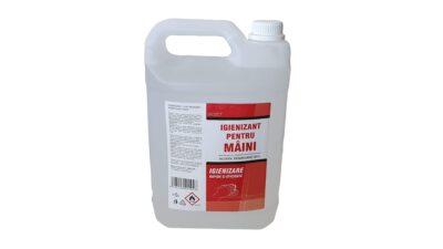 Igienizant de mâini 5 litri Bozo, transport grauit