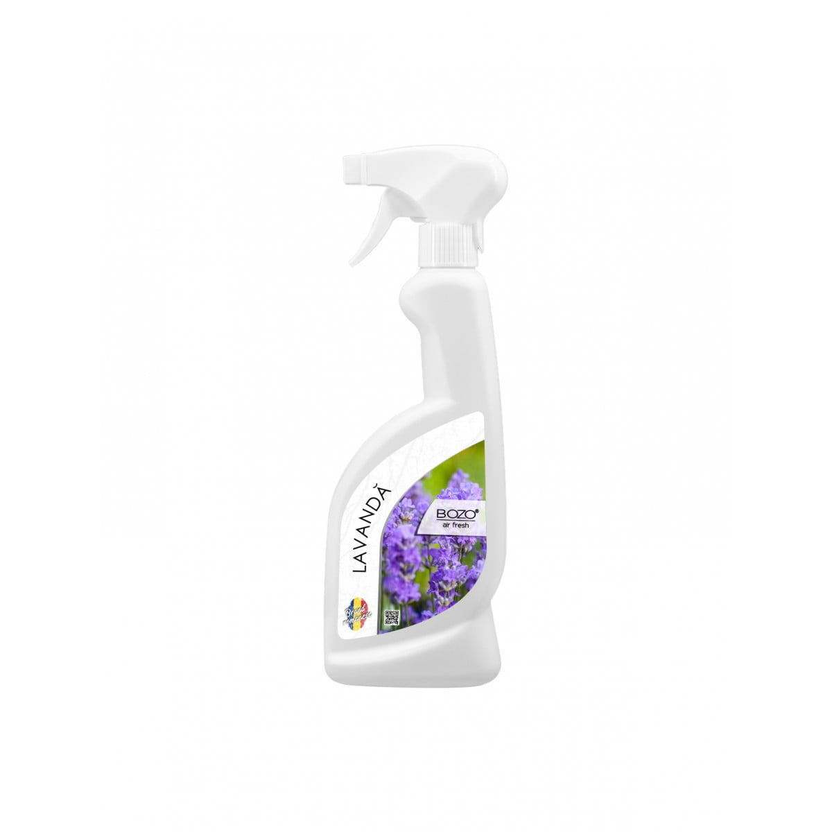 Odorizant ambiental concentrat cu aroma lavanda, Bozo Air Fresh - Lavender - 500ml imagine 2021 somnart.ro
