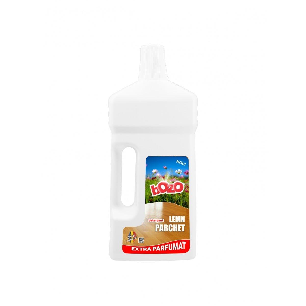 Detergent concentrat lemn + parchet, Bozo, 1 kg poza somnart.ro