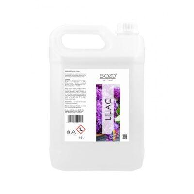 Odorizant ambiental concentrat cu aroma liliac, Bozo Air Fresh – Liliac – 5 litri