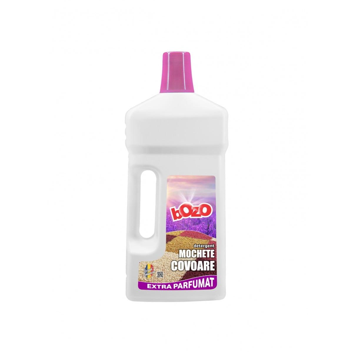 Detergent concentrat mochete + covoare, Bozo, 1 kg poza somnart.ro