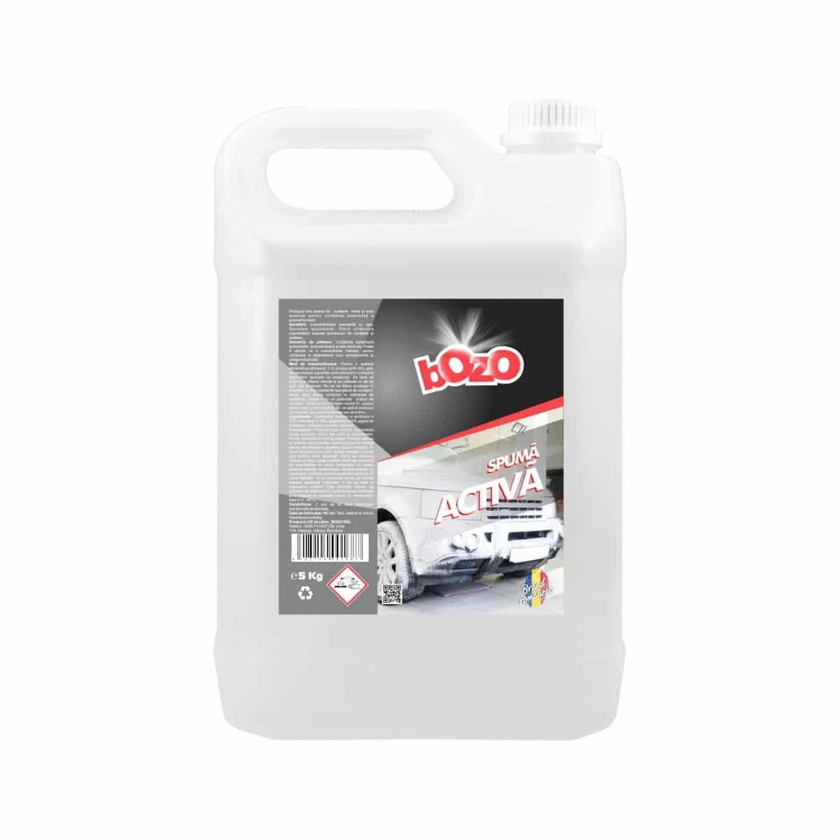 Spuma activa concentrata de spalat auto, marca Bozo, bidon 5 litri imagine 2021 somnart.ro