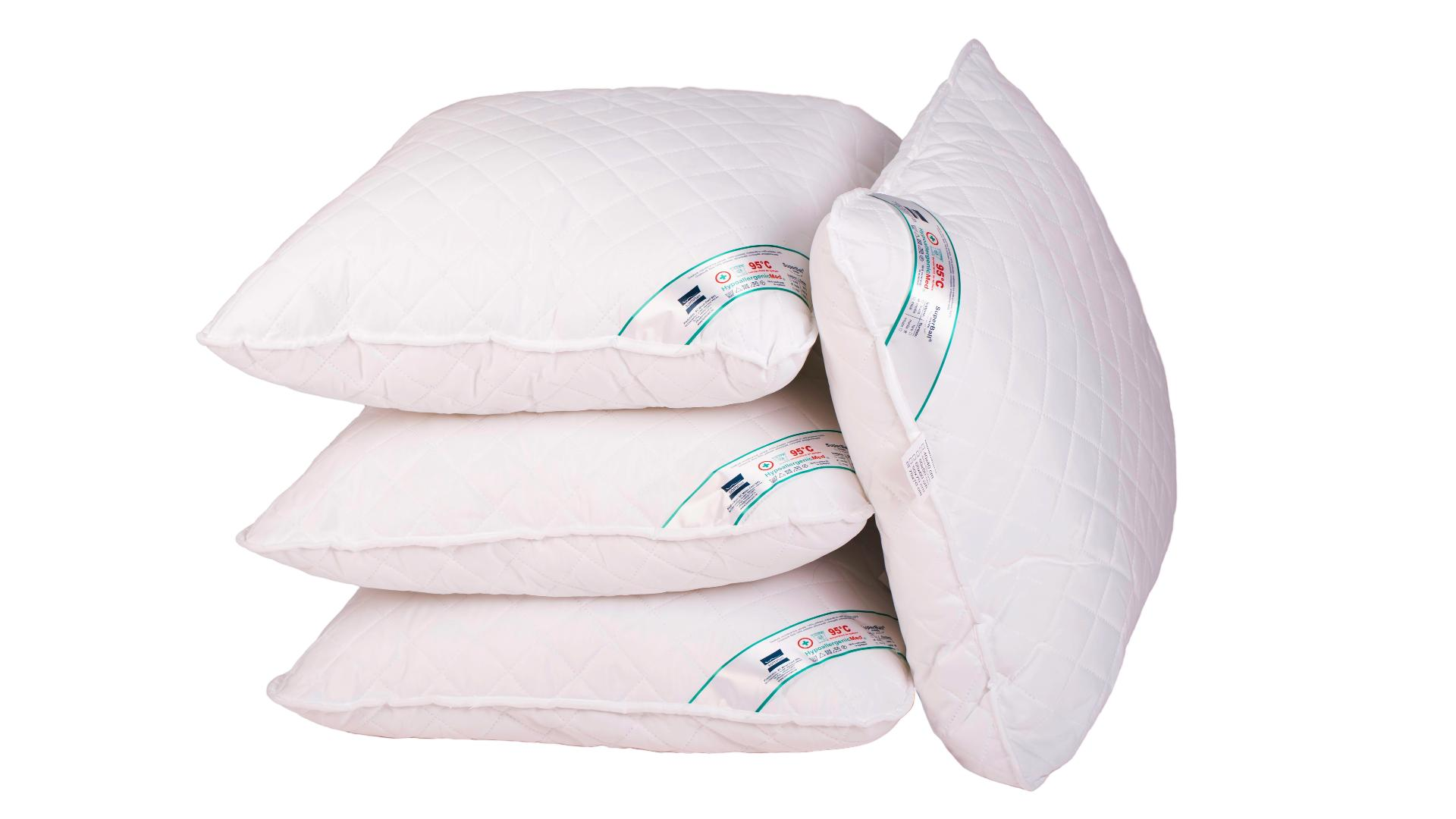 Set 4 perne 70x70 Somnart HypoallergenicMed, lavabile la 95°C poza somnart.ro