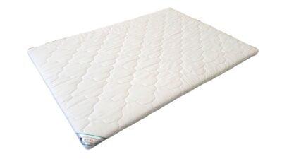 Topper HypoallergenicMed™ Somnart®, cu husa bumbac 100%, detașabilă, spălare la 90°C