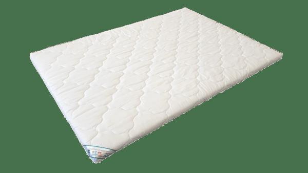 Topper HypoallergenicMed™ Somnart®, cu husa bumbac 100%, detasabila, spalare la 90°C – 140×200 cm