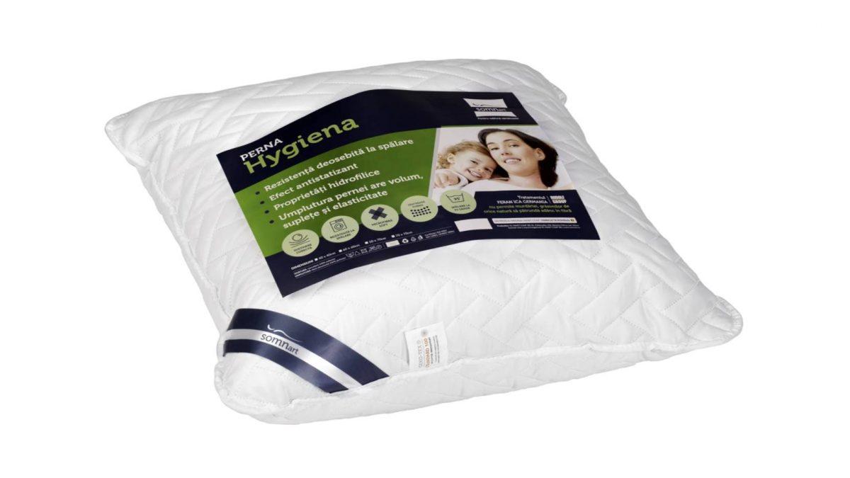 Perna Medicinala 40x40cm Somnart, Hygiena Antistatizanta Hidrofilica, hipoalergenica, bilute Superball, 100% fibra poliester
