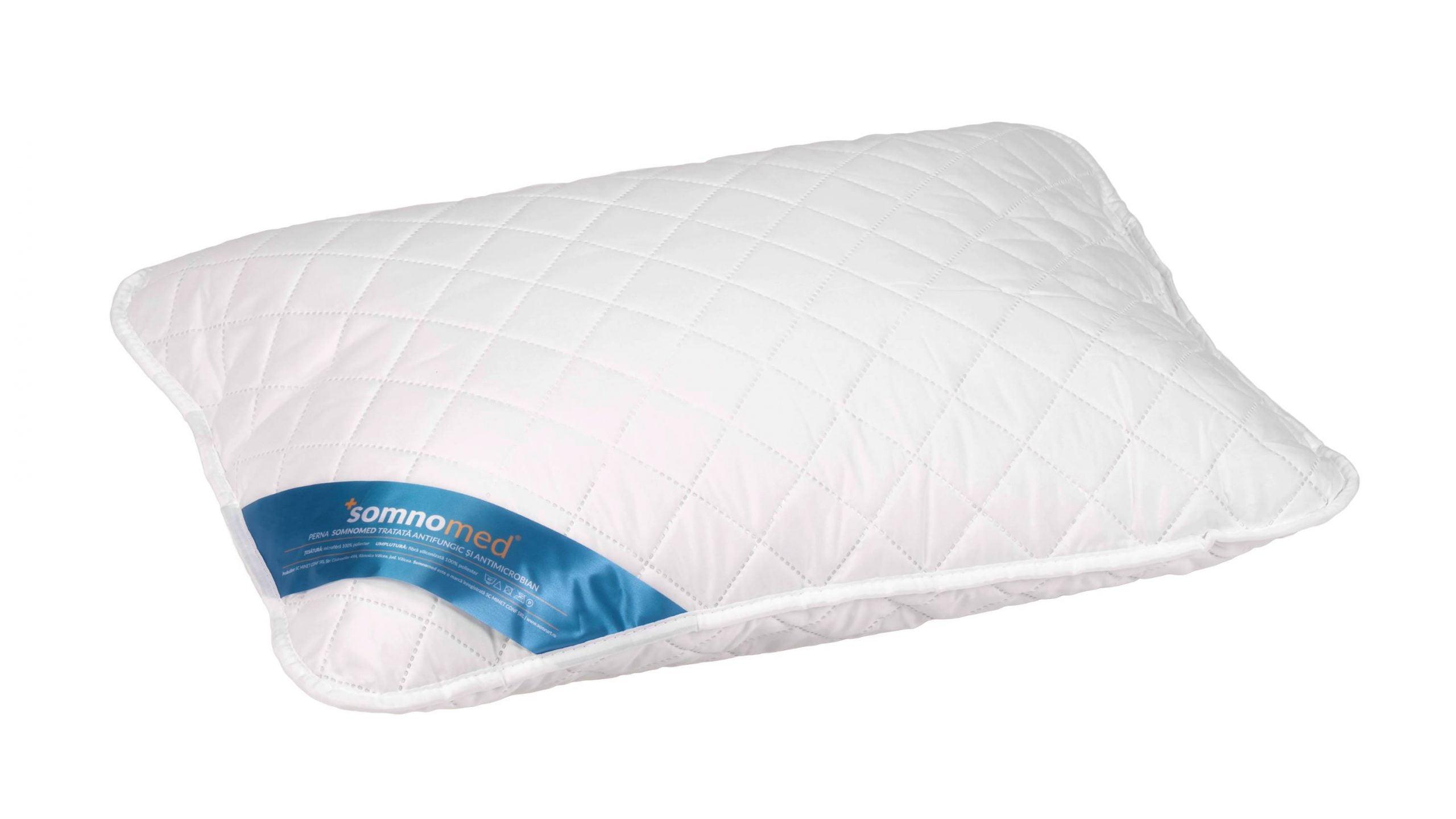 Perna Somnomed Antimicrobiană și Antifungică lavabilă la 95°C - 50 x 70 cm poza somnart.ro