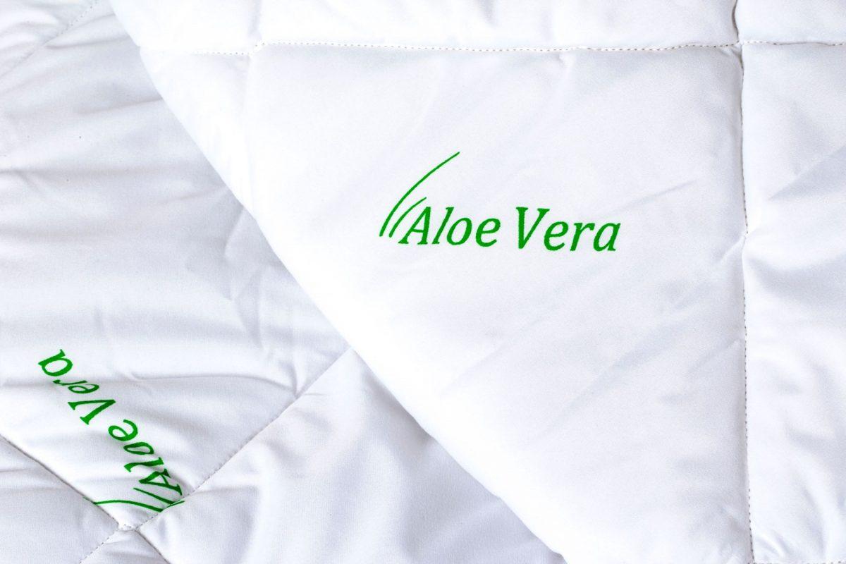 Pilota Somnart matlasata imprimeu Aloe Vera – 200×220