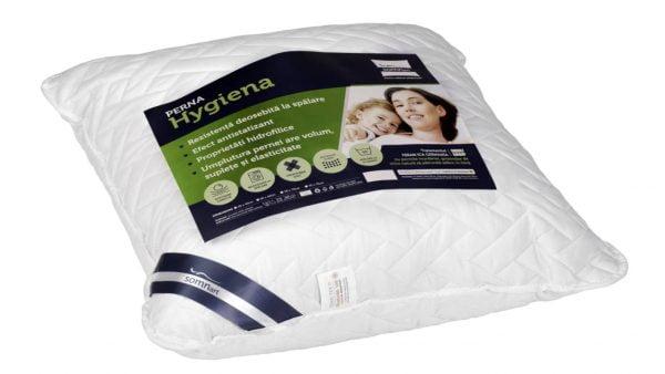 Perna Medicinala 60x60cm Somnart, Hygiena Antistatizanta Hidrofilica, hipoalergenica, bilute Superball, 100% fibra poliester