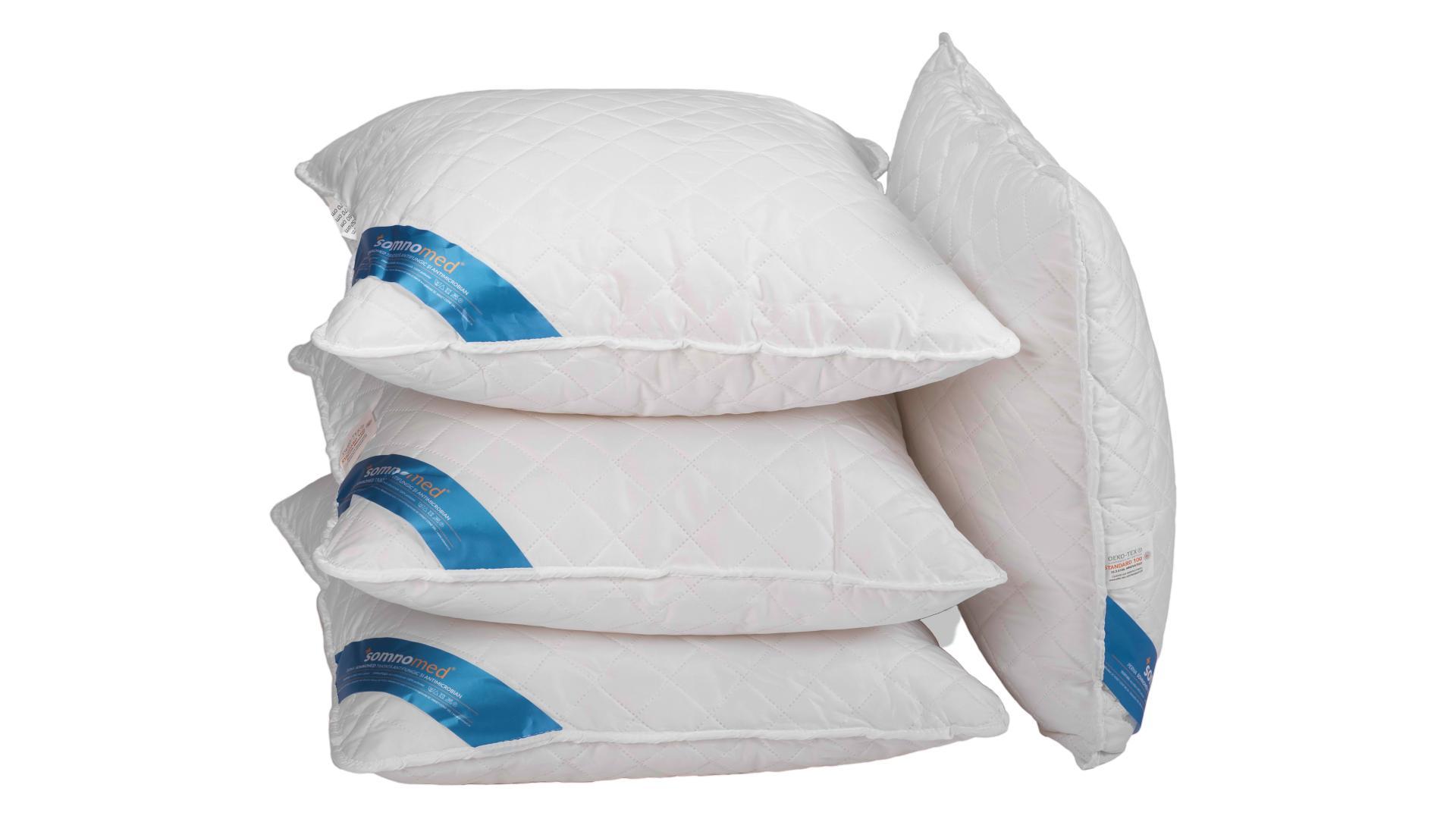 SET 4 Perne Somnomed Antimicrobiene si Antifungice lavabile la 95°C - 70 x 70 cm poza somnart.ro