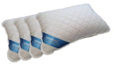SET 4 Perne Somnomed Antimicrobiene si Antifungice lavabile la 95°C – 50 x 70 cm