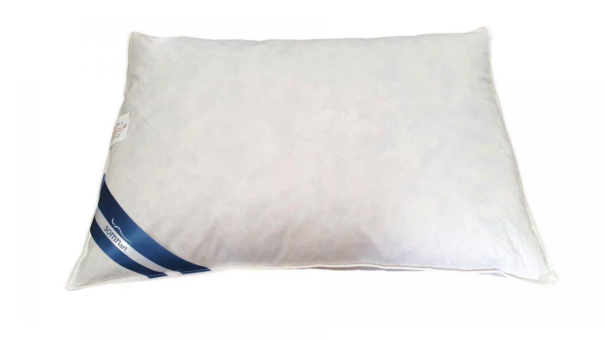 Perna Somnart 10% puf de gasca + 90% fulgi de gasca 50×70 cm