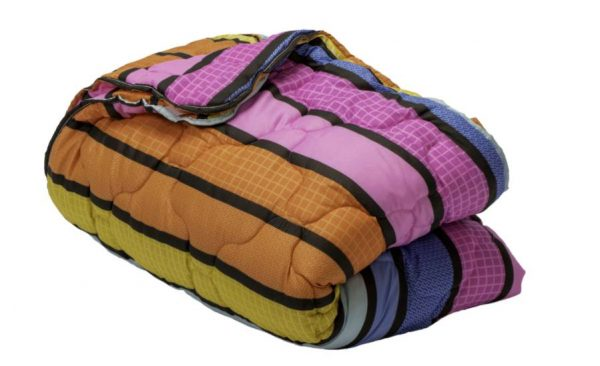 Set pilota 4 anotimpuri 140×200 cm Colors Somnart, microfibra, 200 g + 120 g, multicolor