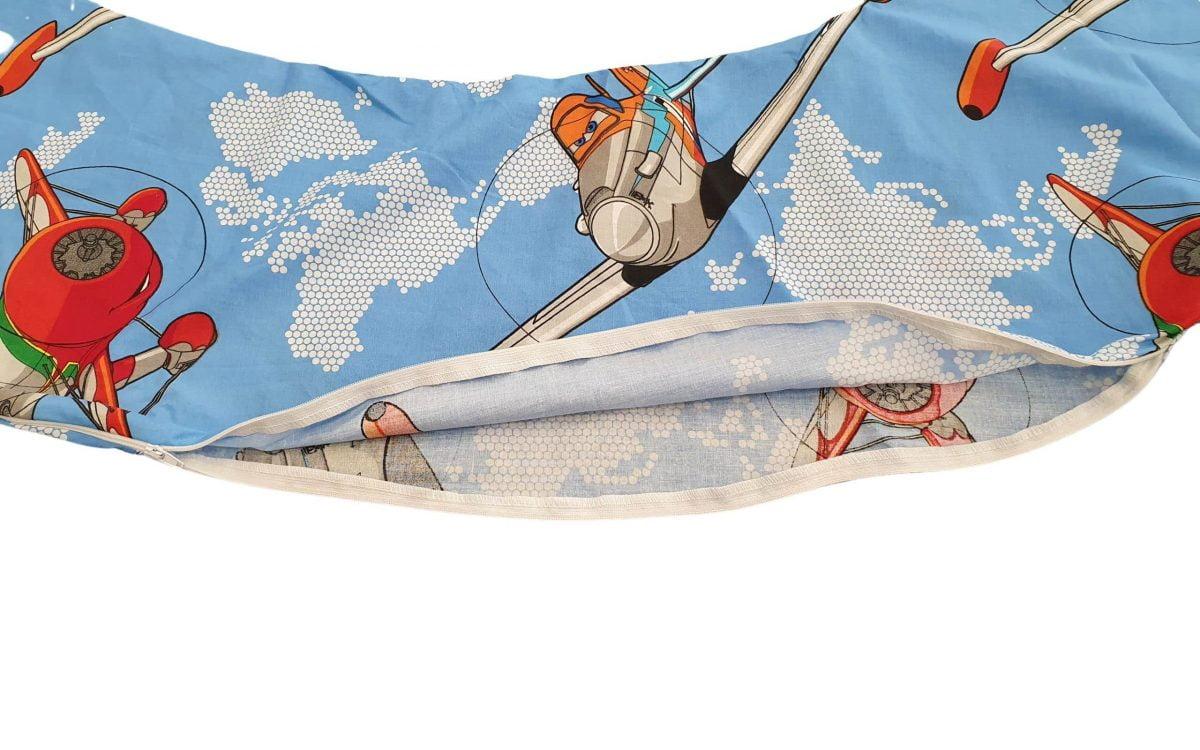 HUSA aditionala pentru Perna de gravide Mami bumbac model Aviator