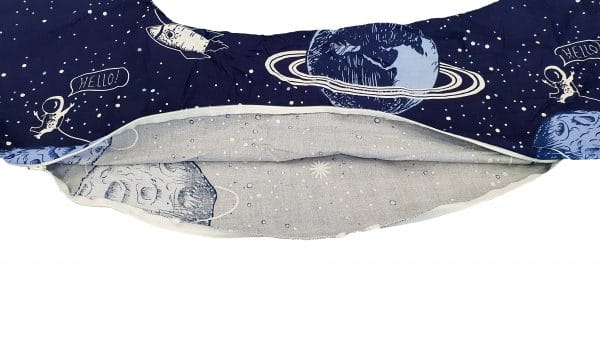 HUSA aditionala pentru Perna de gravide Mami bumbac model Cosmos
