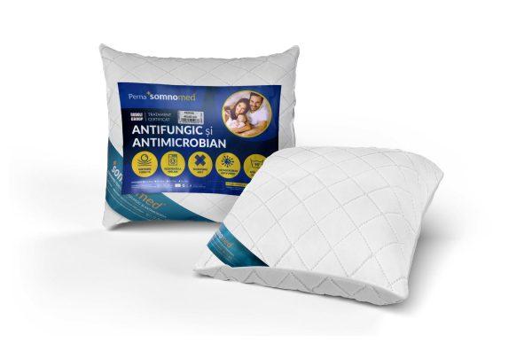 Perna Somnomed Antimicrobiana si Antifungica lavabila la 95°C – 70 x 70 cm
