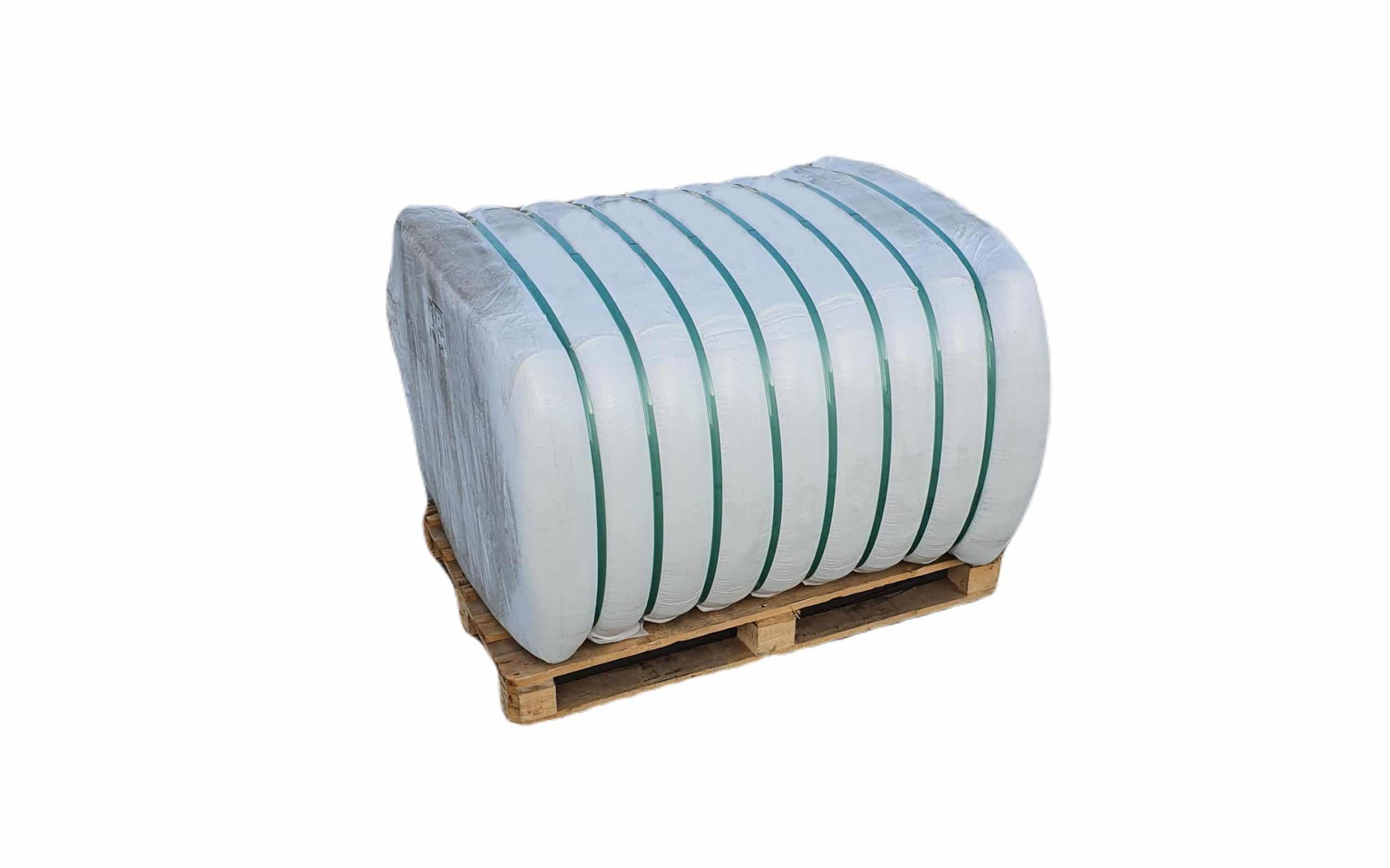 Fibra poliester hollow siliconizata conjugata, HCS 7D x 32 mm pentru fabricare umplutura perne si pilote, 1 x 250 Kg poza somnart.ro