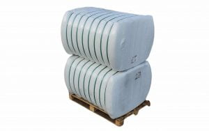 Fibra poliester hollow siliconizata conjugata, HCS 7D x 32 mm pentru fabricare umplutura perne si pilote, 2 x 250 Kg