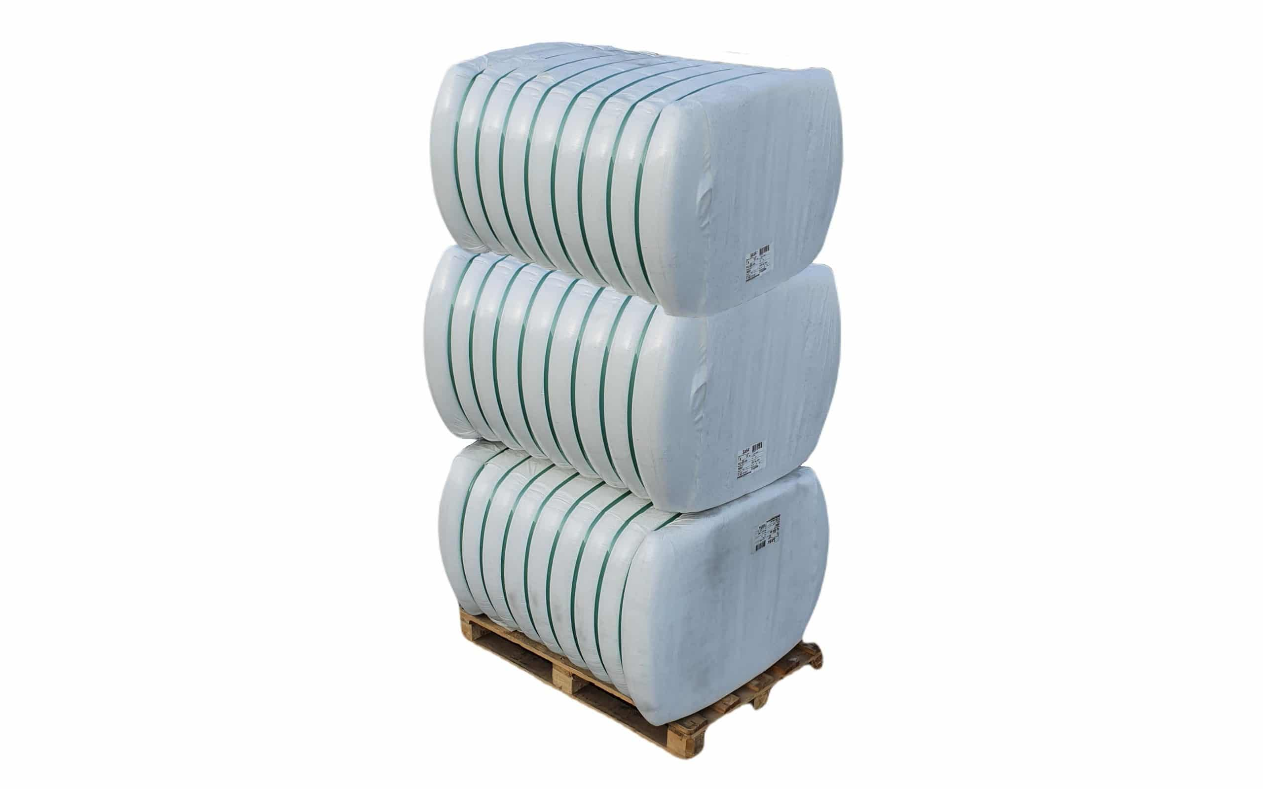 Fibra poliester hollow siliconizata conjugata, HCS 7D x 32 mm pentru fabricare umplutura perne si pilote, 3 x 250 Kg poza somnart.ro