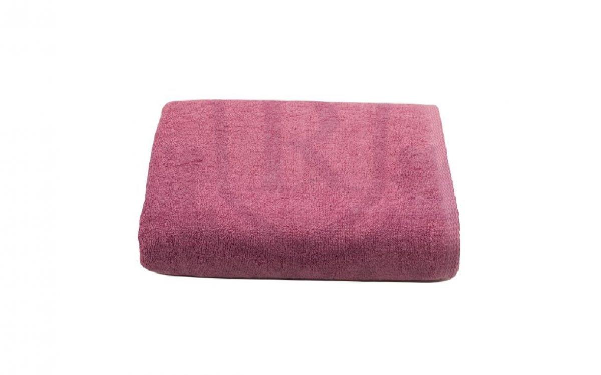 Set 2 prosoape de corp bumbac 100%, 600gsm, Somnart, 70x140cm, roz